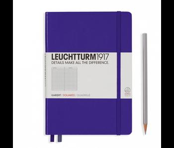 Leuchtturm1917 Notebook Medium Squared Purple