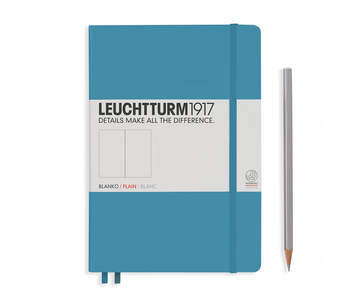 Leuchtturm1917 Notebook Medium Plain Nordic Blue