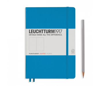Leuchtturm1917 Notebook Medium Dotted Azure