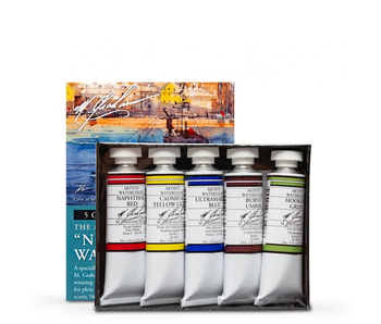M. GRAHAM 5PK SET: NEW ENGLAND WATERCOLOUR
