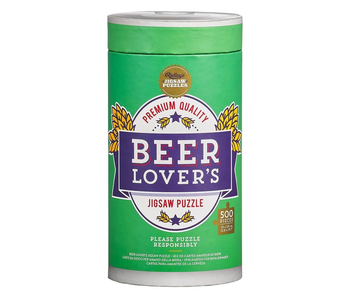 Beer Lovers 500 Piece Jigsaw Puzzle