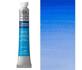 COTMAN WATERCOLOUR 8ML CERULEAN BLUE HUE