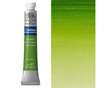 COTMAN WATERCOLOUR 8ML SAP GREEN