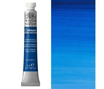 COTMAN WATERCOLOUR 8ML PHTHALO BLUE