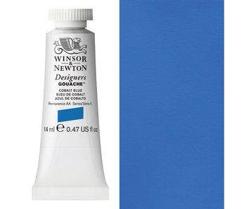 W&N DESIGNERS GOUACHE 14ML COBALT BLUE