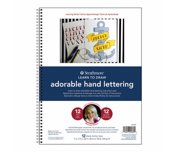 Strathmore Learn To Draw Adorable Hand Lettering