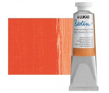 LUKAS BERLIN OIL 37ML CADMIUM ORANGE HUE