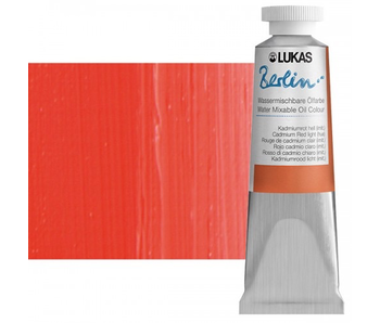 LUKAS BERLIN OIL 37ML CADMIUM RED LIGHT