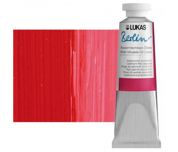 LUKAS BERLIN OIL 37ML CADMIUM RED DEEP