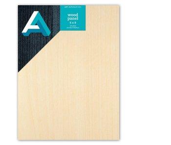 Art Alternatives Wood Panel 3/4 inch Cradled Studio Profile 6X8