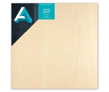 Art Alternatives Wood Panel 3/4 inch Cradled Studio Profile 8X8