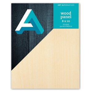 Art Alternatives Wood Panel 3/4 inch Cradled Studio Profile 8X10