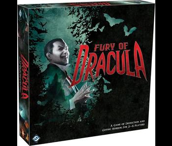 Fury of Dracula - 4th Edition Board Game