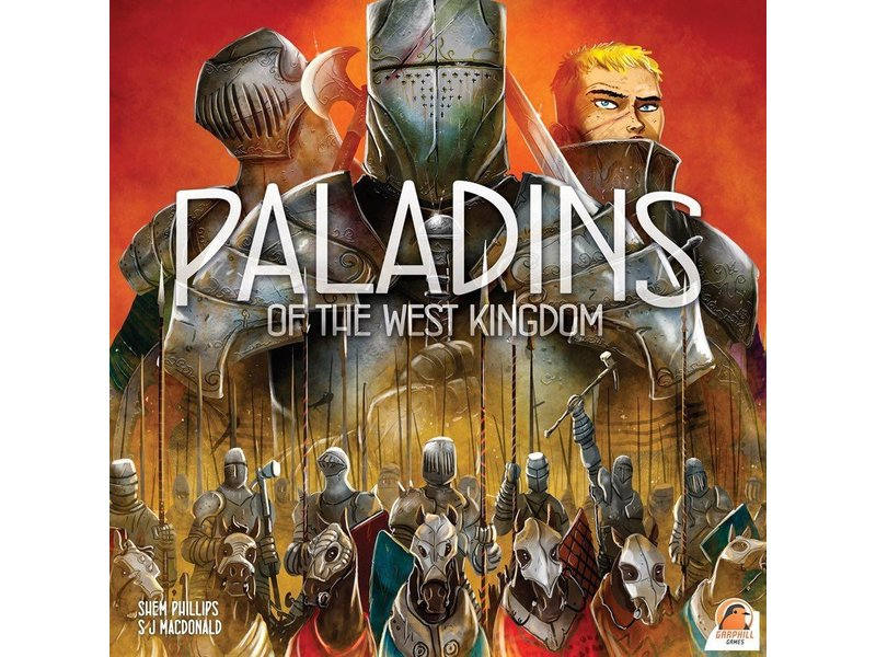 KENNERSPIEL DE JAHRES 2020  NOMINEE *SPECIAL MENTION* - PALADINS OF THE WEST KINGDOM - PRE-BUY