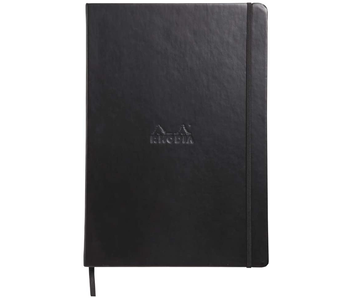 RHODIA HARDCOVER DOT PAD 8.27 x 11.69 BLACK GRID