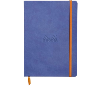 RHODIA RHODIARAMA NOTEBOOK 5.5x8.3 DOT GRID SAPPHIRE Softcover