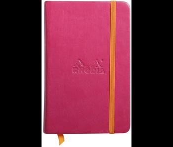 RHODIA RHODIARAMA NOTEBOOK 3.5x5.5 RASPBERRY BLANK Hardcover