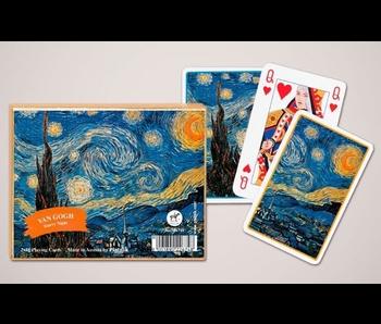 Piatnik Van Gogh Starry Night Bridge Playing CardsT