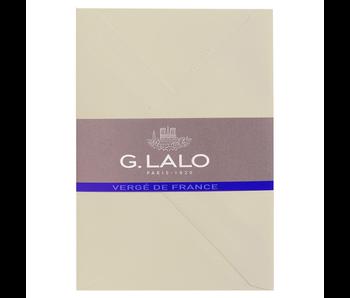 G. Lalo Champange Envelope 4.5X6.25 IN
