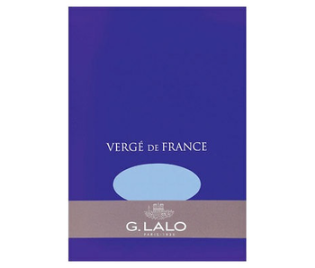 "G. Lalo Blue Verge Pad 50 sheets of 5.75X8.25"" paper"