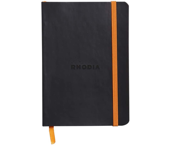 Rhodia Rhodiarama Notebook 4x5.5 Black Dot Grid