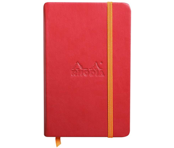 Rhodia Rhodiarama Notebook 3.5x5.5 Poppy Blank