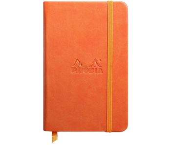 Rhodia Rhodiarama Notebook 3.5x5.5 Tangerine Blank