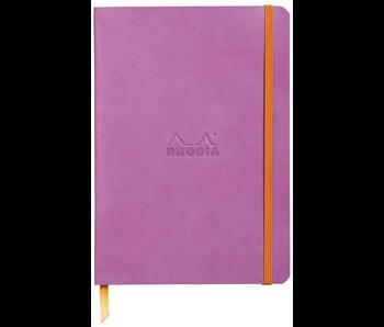 Rhodia Rhodiarama Notebook 5.5x8.3 Lilac Dot Grid