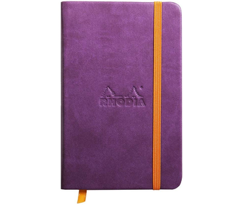 Rhodia Rhodiarama Notebook 3.5x5.5 Purple Lined