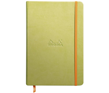 Rhodia Rhodiarama Notebook 5.5x8.3 Anise Lined