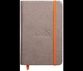 Rhodia Rhodiarama Notebook 3.5x5.5 TAUPE Blank