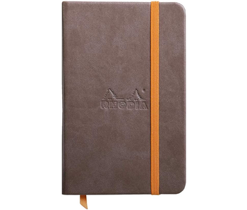 Rhodia Rhodiarama Notebook 3.5x5.5 CHOCOLATE Blank