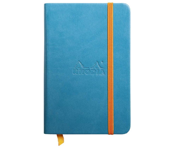 Rhodia Rhodiarama Notebook 3.5x5.5 Turquoise Blank