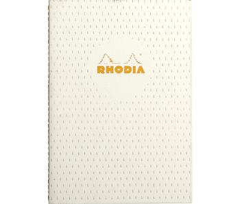 Rhodia HERITAGE STAPLED Notebook Lined IvOry 5.75X8.25