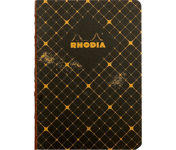 Rhodia Heritage Notebook 5.5x8 Black Chevron