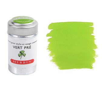 J. HERBIN INK CARTRIDGE 6PK VERT PRE FIELD GREEN
