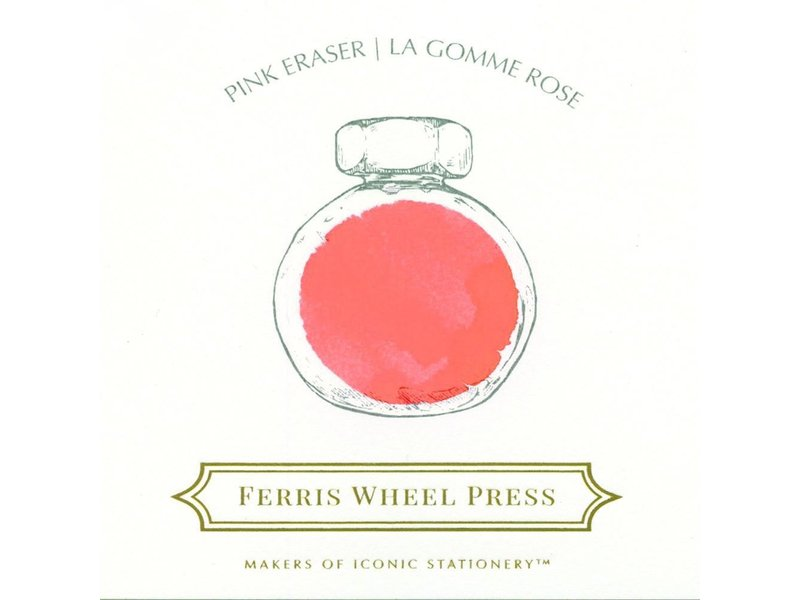 Ferris Wheel Press Pink Eraser 85ML Ink