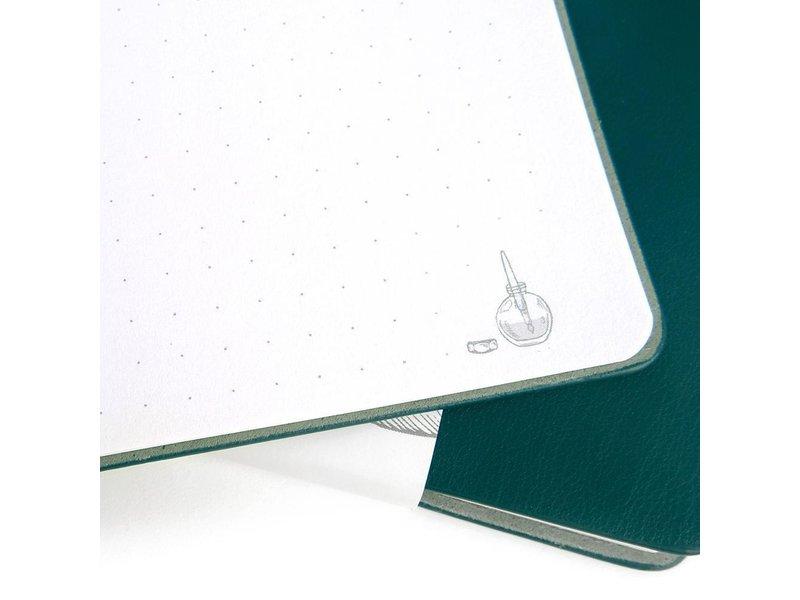 Ferris Wheel Press Always Right Notebook 185mm x 185mm Coral Soda 215mm x 105mm
