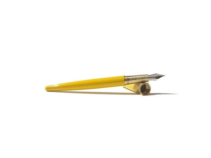 "Ferris Wheel Press Sunset Yellow ""The Brush"" Fountain Pen M"