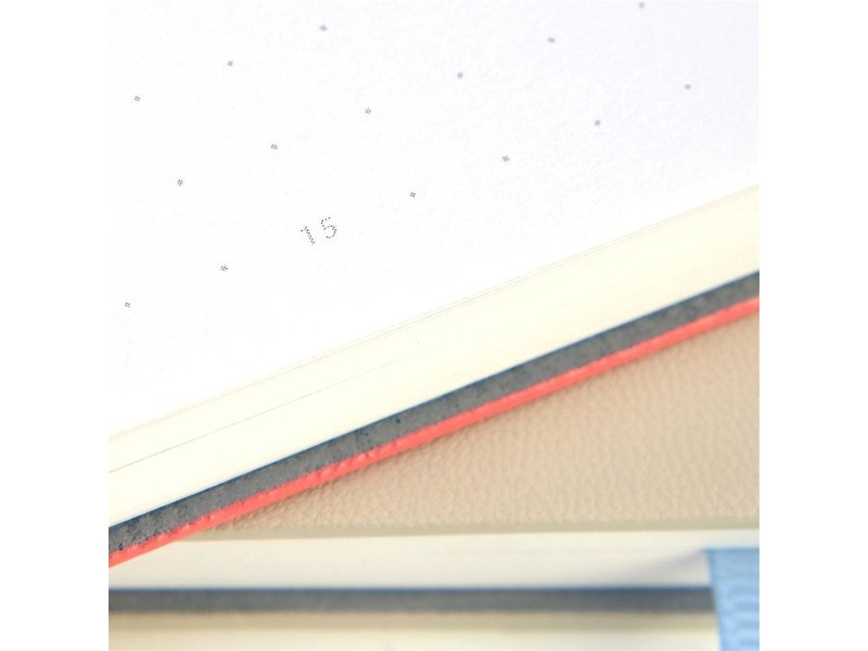Ferris Wheel Press Nothing Left Notebook Coral Soda 215mm x 105mm