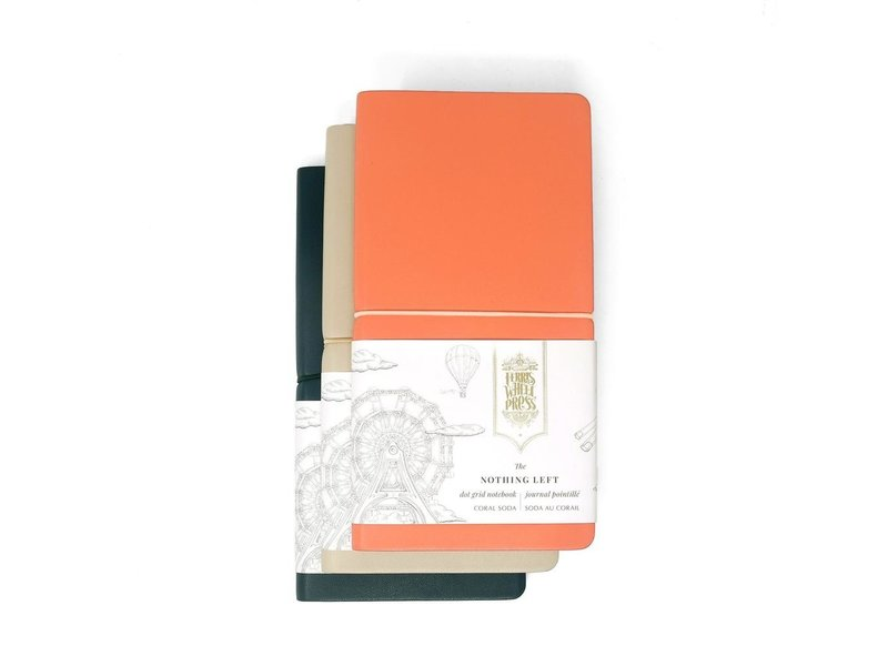 Ferris Wheel Press Nothing Left Notebook Racing Green 215mm x 105mm