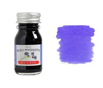 J. HERBIN FOUNTAIN PEN INK 10ML BLEU MYOSOTIS/FORGET ME NOT