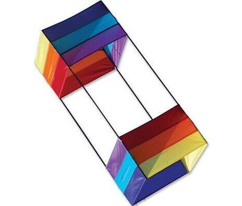 "PREMIER KITES RAINBOW BOX KITE - 36"" (CELLULAR KITE)"