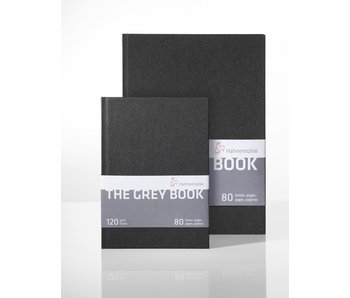 Hahnemühle The Grey Book 190gsm 40 sheets/80 pages 5.83x8.7""
