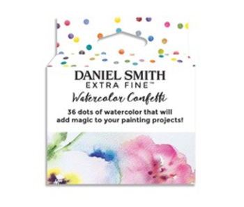 Dan Smith Watercolour CONFETTI DOTCARD 36/SET