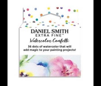 Dan Smith Watercolour CONFETTI DOTCARD 36/SET