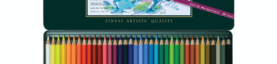 Water Soluble Pencils and Sticks