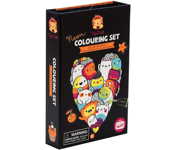 TIGER TRIBE COLOURING SET: GLOW FRIENDS, NEON