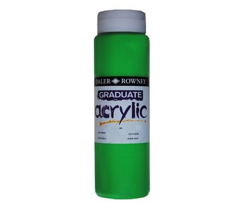 GRADUATE ACRYLIC 500ML LEAF GREEN