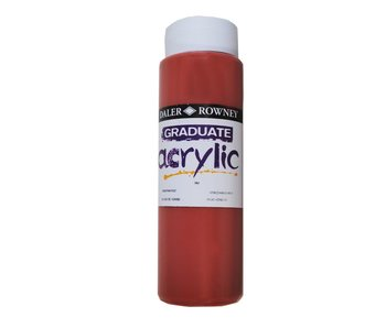 GRADUATE ACRYLIC 500ML VENETIAN RED